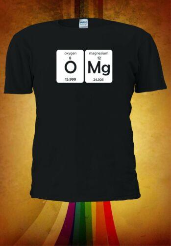 OMG Oxygen Magnesium Periodic Table S-5XL Funny Men Women Unisex T-shirt 2955