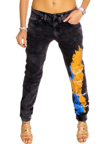 JEANS DA DONNA DESIGNER PANTALONI BLU colori attenuati Clubwear Sweden Svezia Denim WOW NEW