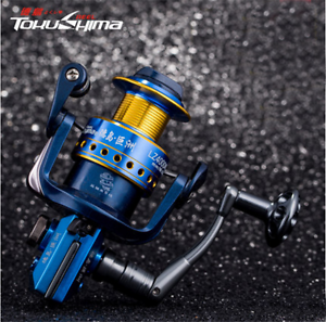 LZ1000-7500 Fishing Reels 13 BB Ball Bearings Parallel Line Wining Spinning Reel