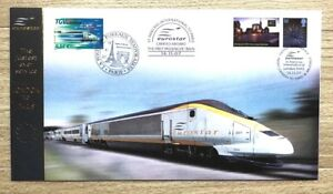 2007-Eurostar-The-Fastest-Ever-Service-London-to-Paris-Buckingham-FDC