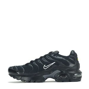 Details about Nike Air Max Plus Tuned Junior Trainers Shoes Black
