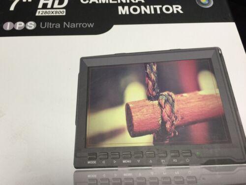 """Feelworld FW759 7"""" IPS LCD Video DSLR Kamera Monitor Stange Klemme Magic Arm"""