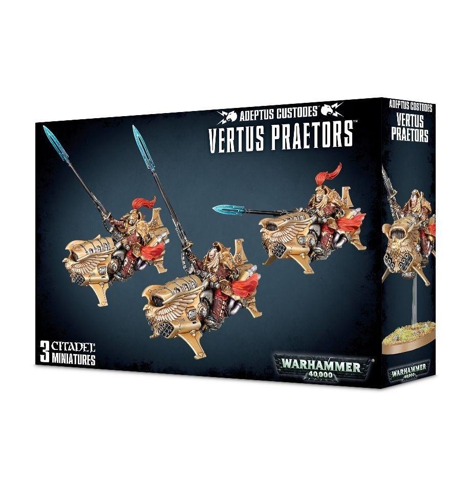 Warhammer 40K Adeptus Custodes greenus Praetors 01-12