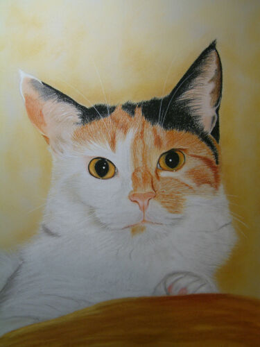 Tortoishell Cat Mousemat by UK artist 5 Images To Choose From