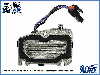 New Heater AC Blower Motor Resistor Fits Century Regal Corvette Intrigue RU396