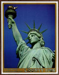 Image Is Loading Statue Of Liberty I Lift My Lamp Beside