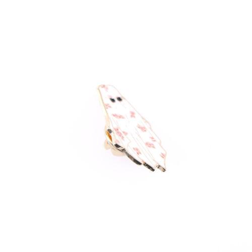 Dubai Enamel Pin Arabian flower white robe sunglasses Brooch Backpack OS