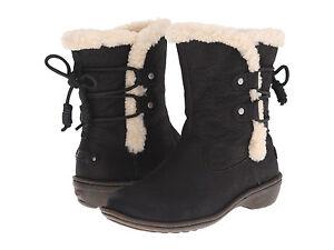 d9d5189ec21 Women UGG Australia Akadia Boot 1007760 Black Leather 100% Authentic ...