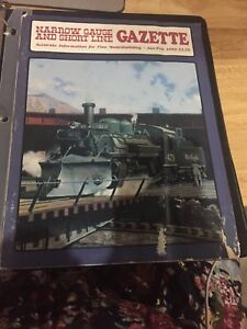 Narrow-Gauge-and-Short-line-Gazette-set-of-6-from-1989-great-cond-in-binder