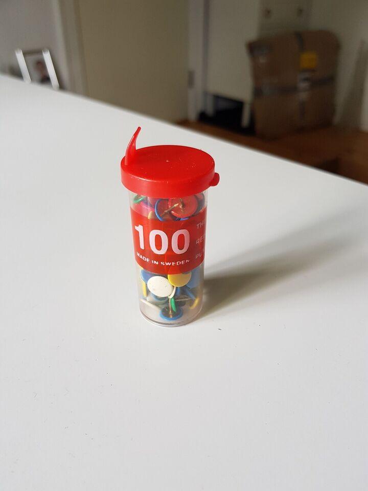 Andet, 100 nåle med fladt hoved