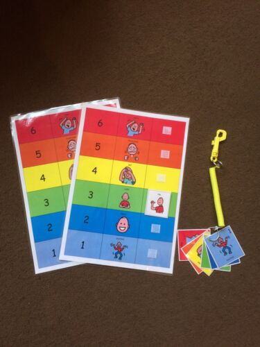 PECS//Boardmaker Emotions Indicator Pack for Autism//ASD//ADHD//SEN//Aspergers