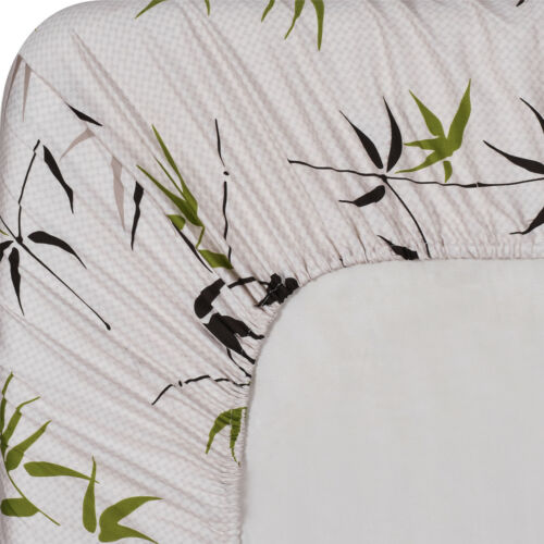 Ultra Soft /& Smooth Genuine 100/% Plush Cotton Floral Fern Percale Sheet Set