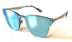 54a710c65c Image is loading SALE-Rayban-Blaze-Clubmaster-Sunglasses-RB3576N-042-30-