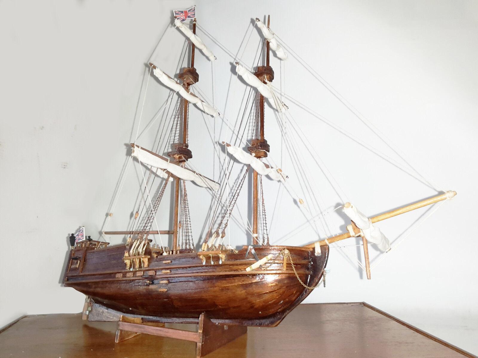 Goldener stern barco de madera con la mano bergant 45 í n tedesco 1770