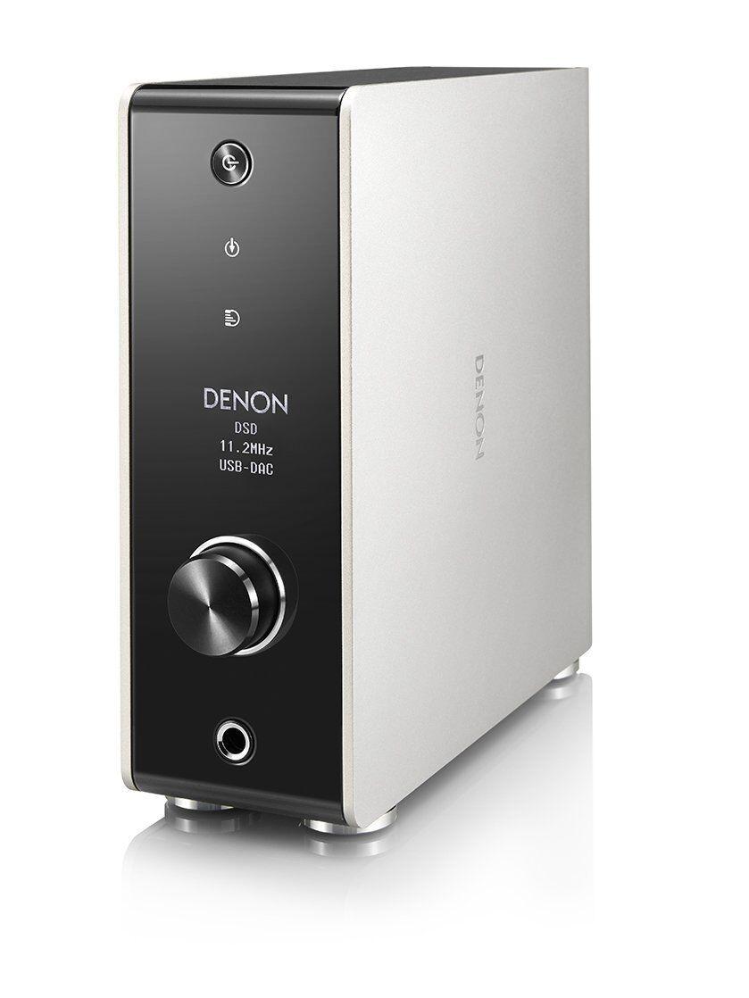 DENON Kopfhörer Amplifier DA-310USB Premium Silber USB-DAC DSD High-res Neu