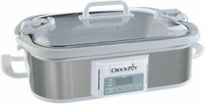 Crock-Pot-SCCPCCP350-SS-Programmable-Digital-Casserole-Slow-Cooker-3-5quart