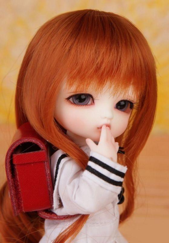 1 8 muñeca de BJD SD muñeca pequeña Delf Alice Gratis Cara Maquillaje + Ojos-Alice
