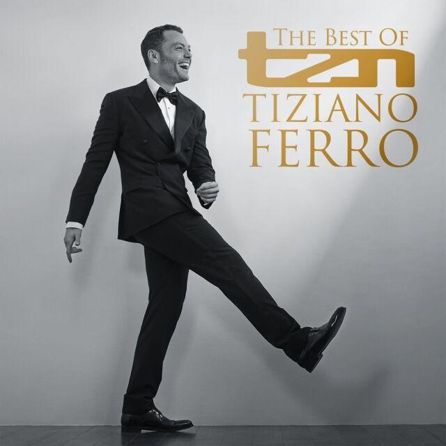 TIZIANO FERRO - TZN-THE BEST OF TIZIANO FERRO  CD NEW!