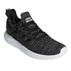 adidas-Lite-Racer-Running-Shoes-Black-Cloud-Foam-Comfort-Size-9-Mens