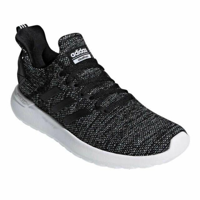adidas Lite Racer Running Shoes- Black- Cloud Foam Comfort (Size 9) Mens
