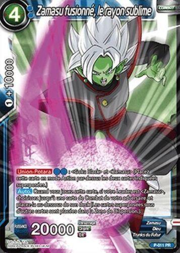 le rayon sublime P-011 PR VF Dragon Ball Super Zamasu fusionné