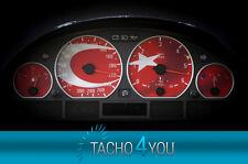 BMW Tachoscheiben 300 kmh Tacho E46 Diesel M3 Türkei 3326 Tachoscheibe km/h