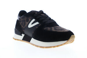 Tretorn-Loyola-9-WTLOYOLA9-Womens-Black-Suede-Low-Top-Lifestyle-Sneakers-Shoes