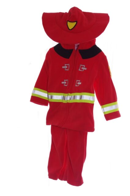 Carters Baby Firefighter Fireman Purim Halloween Costume 3 9 12 18 24 Months NEW