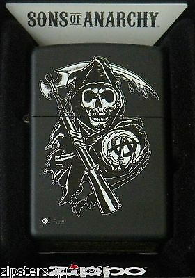 SONS OF ANARCHY REAPER ZIPPO LIGHTER, 28504