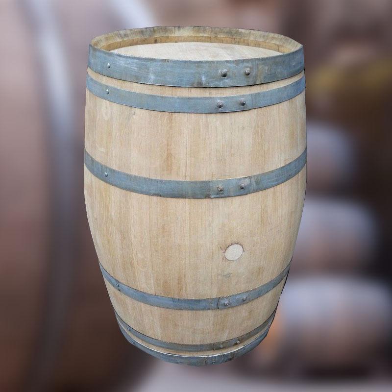 Roble Macizo 225L Original Vino Barriles Tubos Patio Mesas Muebles de Jardín