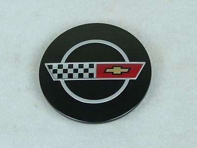 New GM Restoration Parts 1984-85 C4 Corvette Wheel Center Cap w Emblem 14046926