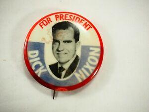 Dick-Nixon-para-Presidentes-Politico-Campaign-Pin-Back-Pin
