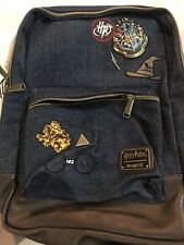 Loungefly Harry Potter Backpack Bag Hogwarts Relics Tattoo Icons For Sale Online Ebay
