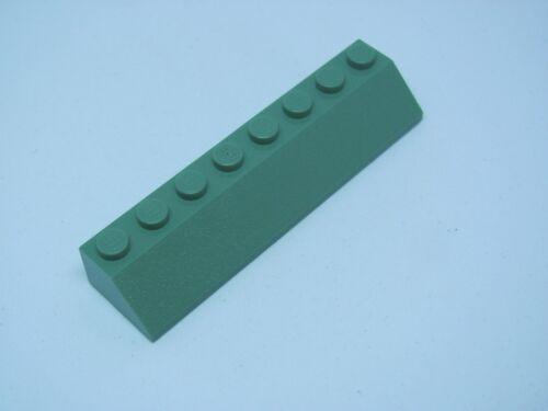 LEGO 4445 @@ Slope 45 2 x 8  @@ SAND GREEN 4766 6209