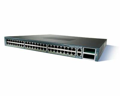 Cisco WS-C3750E-24TD-E V05 24-Ports Gigabit Network Switch RackEars 1Yr Warranty
