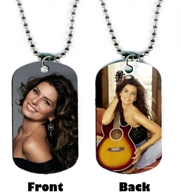 erft5Z MUSIC GUITAR BEST INSTRUMENT #2 DOG TAG PENDANT NECKLACE FREE CHAIN