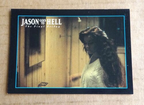 """MULTI-LIST OF SINGLE ECLIPSE 1993 /""""JASON GOES TO HELL TRADING CARDS/""""   FREE P//P"""