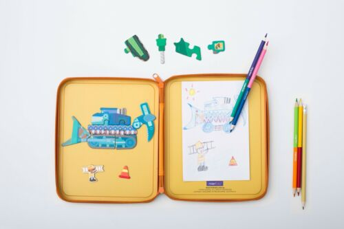 DRAW MAGNETIC KIT PUZZLE mierEdu Magnetic Toys