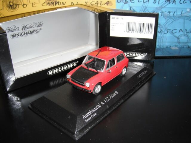 1/43 Minichamps Autobianchi A112 Abarth 400121170 1-5040 rosso red rouge rot