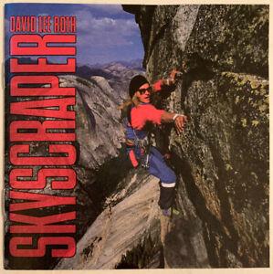 DAVID-LEE-ROTH-SKYSCRAPER-CD-WARNER-BROS-USA-1988-SILVER-FACE-NEAR-MINT