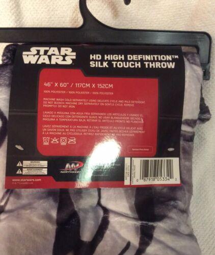 Star Wars Force Awakens STORMTROOPER Fleece Throw Blanket Imperial Force NWT