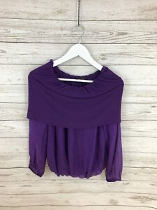 Small Great Size Condition Purple Phase Top Women's Eight qwp1Xngxt