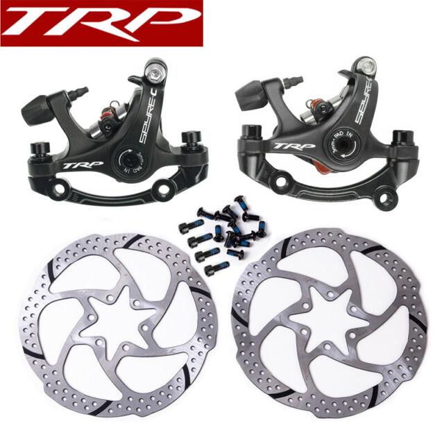 TRP Spyre SLC Flat Mechanical Carbon Front Rear 160 or 140 mm disc Brake caliper