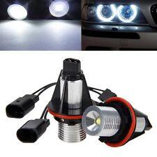 4Pcs 5W LED Standlicht 6000K Angel Eyes Marker Licht Für BMW 5er E39 E53 E65 NEU