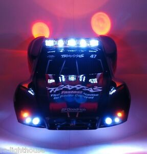 Rc Led Light Set With Light Bar For Traxxas Slash 4x4 2wd