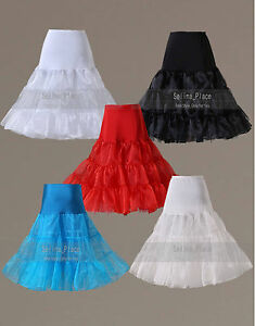 f42ab9f09a704 Image is loading Tea-Length-Swing-Vintage-Prom-Crinoline-Petticoat-Women-