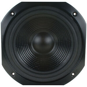 New 10 Woofer Replacement Speaker8 Ohm12 Square Frame Home Audio