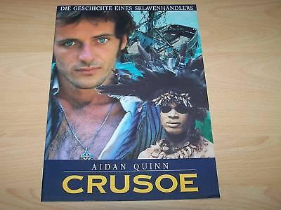 Aidan Quinn SorgfäLtige Berechnung Und Strikte Budgetierung Sporting Crusoe Presseheft ´88