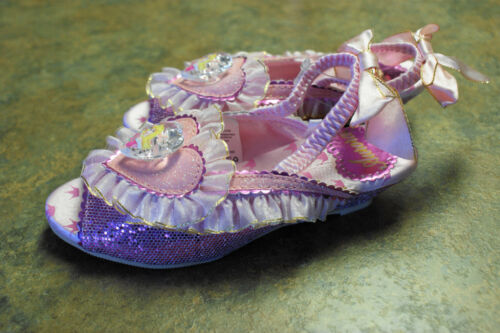 New Disney Store AURORA Heart Jewel Costume Shoes 7//8