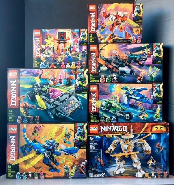 LEGO Ninjago - LOT of 7 New - Factory Sealed Sets